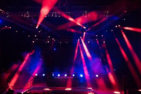 ライブの照明