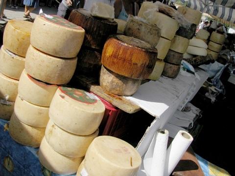 ハードチーズの市場